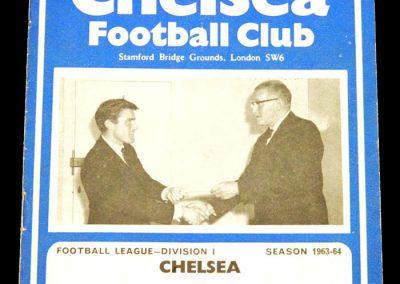 Chelsea v Manchester United 02.10.1963