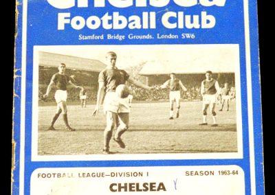 Chelsea v Sheffield Wednesday 19.10.1963