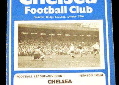 Birmingham City v Chelsea 02.11.1963