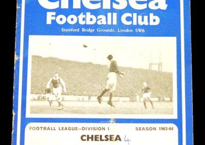 Bolton Wanderers v Chelsea 30.11.1963