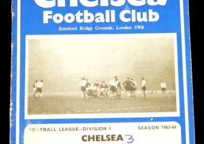 Sheffield United v Chelsea 21.12.1963