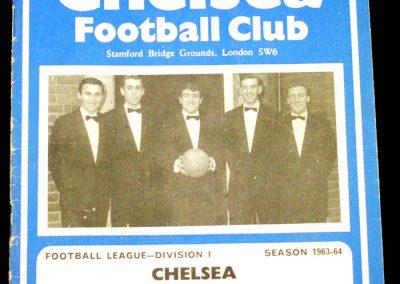 Chelsea v Blackpool 28.12.1963