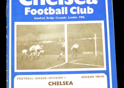 Aston villa v Chelsea 18.01.1964