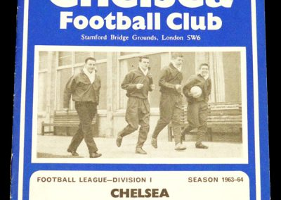 Ipswich Town v Chelsea 22.02.1964