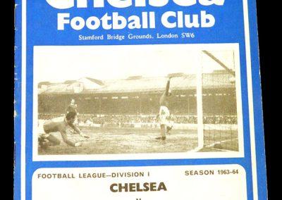 Fulham v Chelsea 07.03.1964