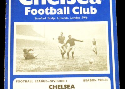 West Bromwich Albion v Chelsea 21.03.1964