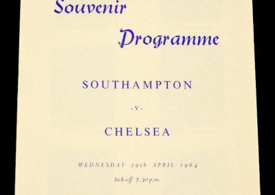 Southampton v Chelsea 29.04.1964