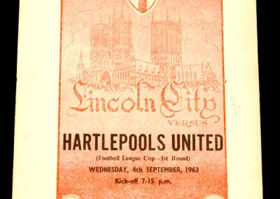 Lincon v Hartlepools United 04.09.1963