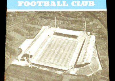 Birmingham City v Blackpool 09.11.1963