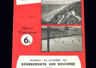 Bournemouth v Bristol Rovers 16.11.1963