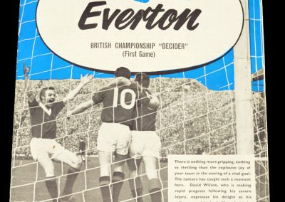 Rangers v Everton 27.11.1963 | British Championship Decider