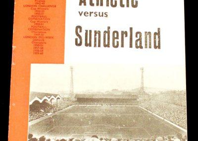 Charlton v Sunderland 07.12.1963