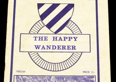 Sliema Wanderers Brochure 1963 / 1964