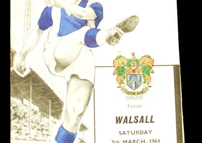Oldham Athletic v Walsall 07.03.1964