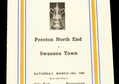 Preston v Swansea 14.03.1964 | FA Cup Semi-Final