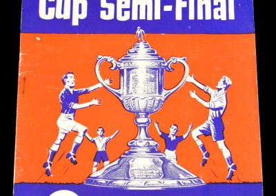 Rangers v Dunfermline 28.03.1964 | Scottish Cup Semi- Final