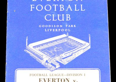 Everton v West Ham United 25.04.1964