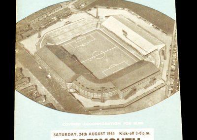 Manchester City v Portsmouth 24.08.1963