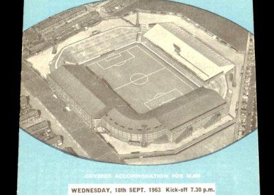 Swindon Town v Manchester City 18.09.1963