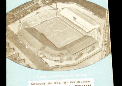 Northampton Town v Manchester City 21.09.1963