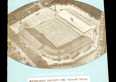 Manchester City v Carlisle United 25.09.1963 | League Cup 2nd Round