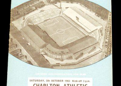 Manchester City v Charlton Athletic 05.10.1963