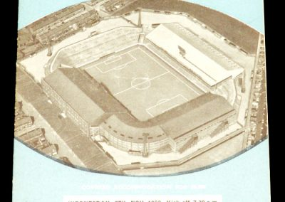 Leeds United v Manchester City 25.09.1963 | League Cup 4th Round