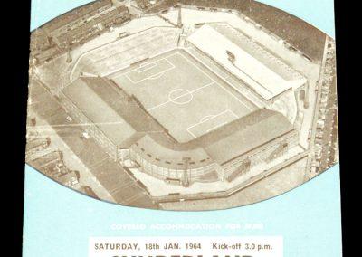 Manchester City v Sunderland 18.01.1964