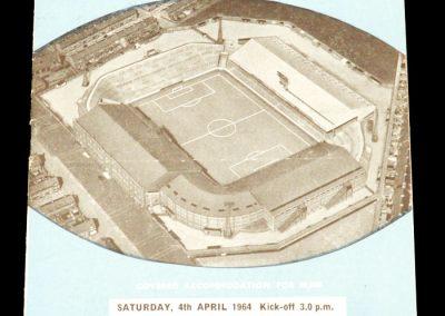 Manchester City v Newcastle United 04.04.1964