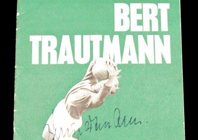 Bert Trautmann Testimonial match 15.04.1964