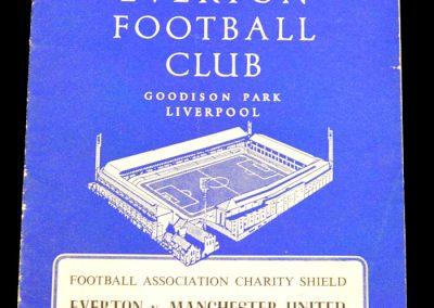 Everton v Manchester United 17.08.1963