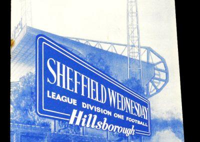 Sheffield Wednesday v Manchester United 24.08.1963