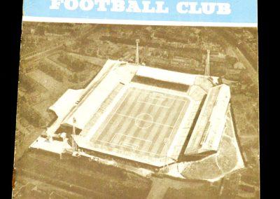 Birmingham City v Manchester United 07.09.1963