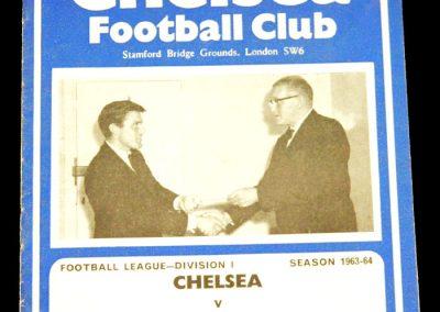 Manchester United v Chelsea 02.10.1963
