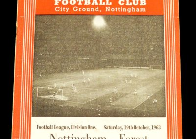 Nottingham Forest v Manchester United 19.10.1963