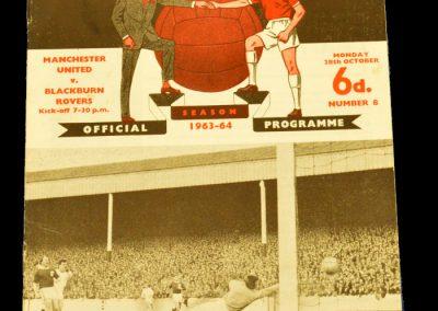 Manchester United v Blackburn Rovers 28.10.1963