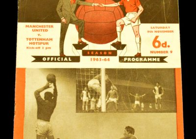 Manchester United v Tottenham Hotspur 09.11.1963