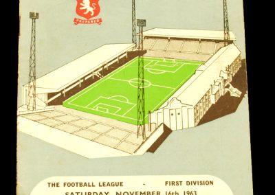 Aston Villa v Manchester United 16.11.1963