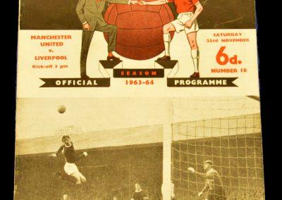 Manchester United v Liverpool 23.11.1963