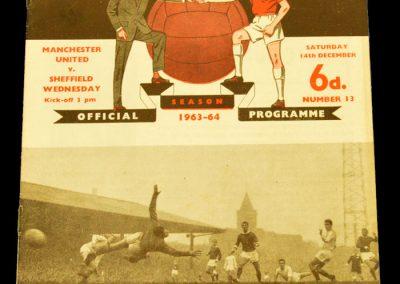 Manchester United v Sheffield Wednesday 14.12.1963