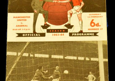 Manchester United v Arsenal 01.02.1964