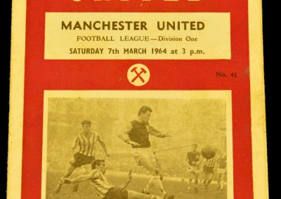 West Ham United v Manchester United 07.03.1964
