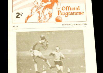 Reserves v Villa 21.03.1964