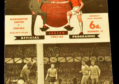 Chelsea v Manchester United 23.03.1964