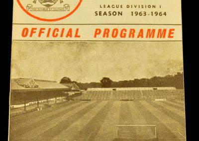 Fulham FC v Manchester United 27.03.1964
