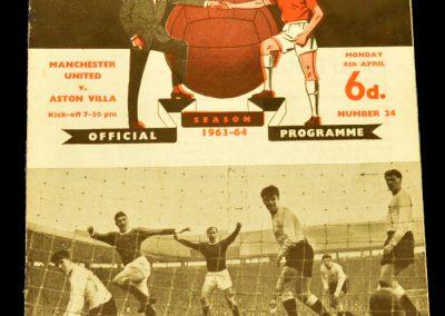 Manchester United v Aston Villa 06.04.1964