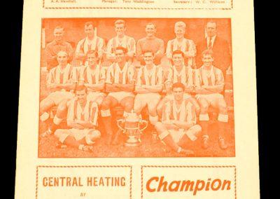 Stoke City v Manchester United 18.04.1964