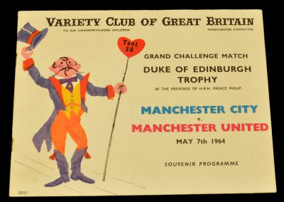 Manchester City v Manchester United 07.05.1964 | Duke of Edinburgh Challenge Match