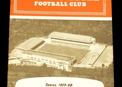 Arsenal v West Ham United 14.11.1959