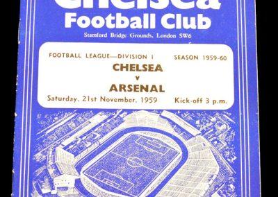 Chelsea v Arsenal 21.11.1959